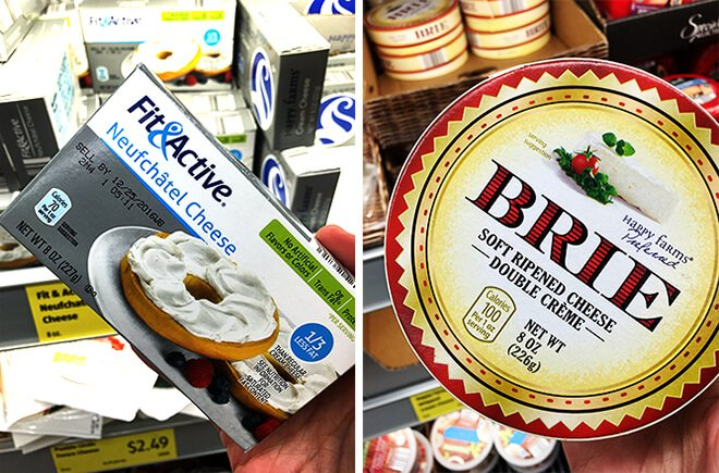 Aldi Brie and Cream Cheese