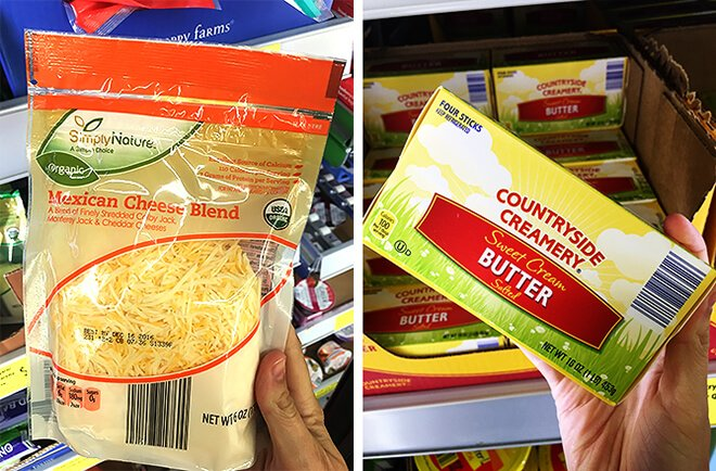Aldi Cheese and Butter