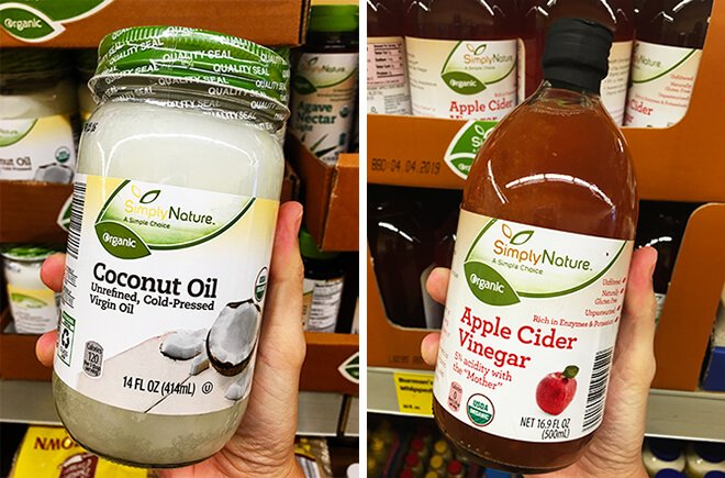 Aldi Coconut Oil Apple Cider Vinegar