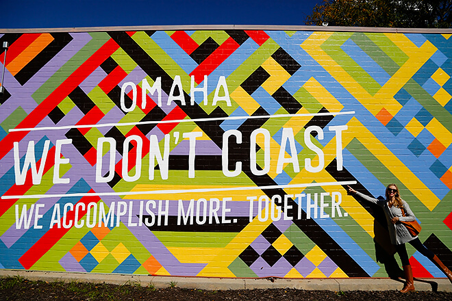 Omaha Photo Wall