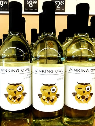 Winking Owl Wine Aldi