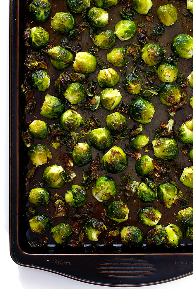 Oven Roasted Brussels Sprouts Recipe