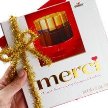 Merci Chocolates Thank You 1