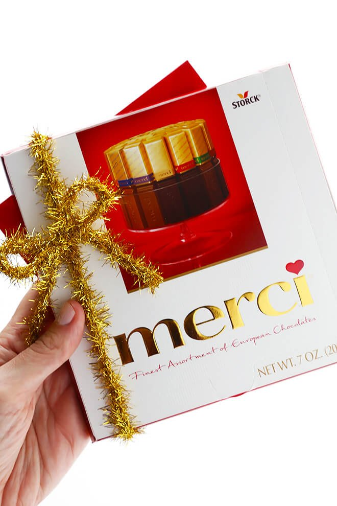 Merci Chocolates Thank You 1
