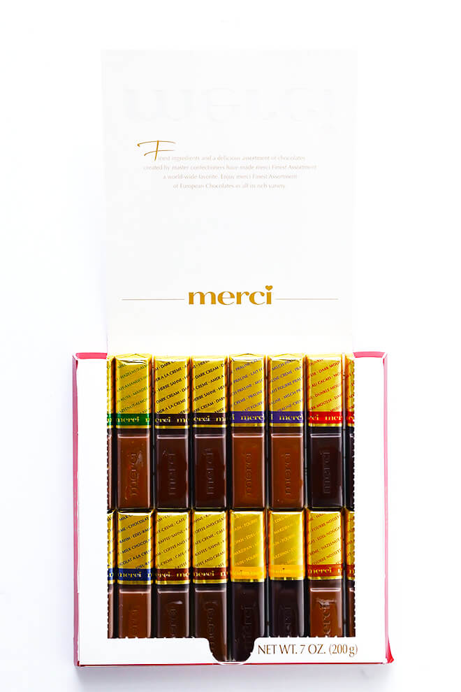 Merci Chocolates Thank You 4