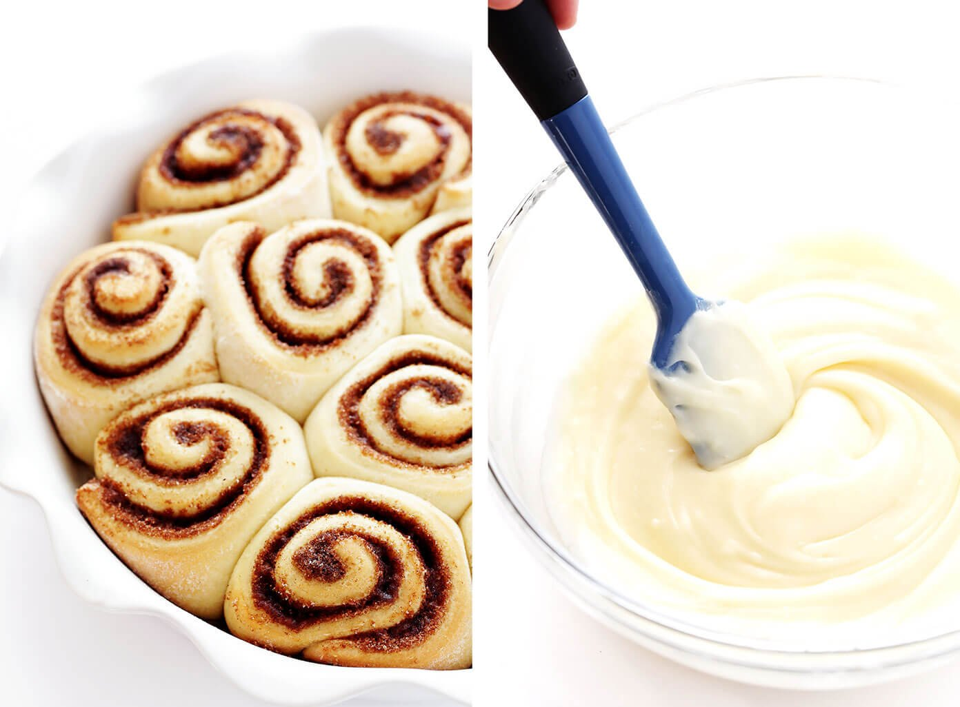 Homemade Cinnamon Roll Icing