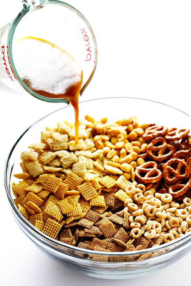 This Extra-Bold Chex Mix recipe is made just the way I like it -