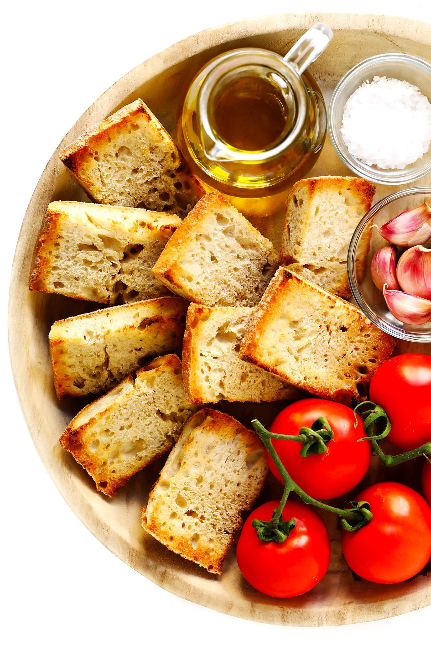 Tomato Bread (Pan Con Tomate) Ingredients