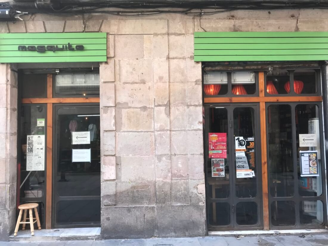 Mosquito Asian-fusion tapas   Gimme Some Barcelona Travel Guide