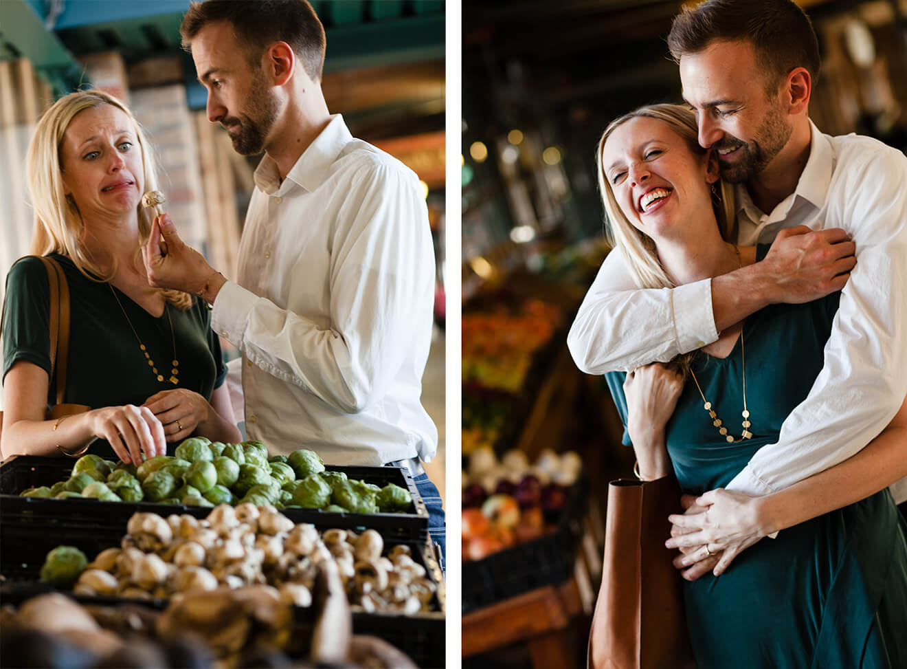 Barclay and Ali Martin Engagement Pictures in Kansas City (by Becca Spears Photography)