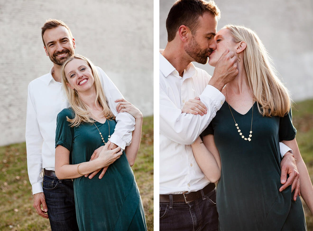 Engagement Pictures in Kansas City | gimmesomeoven.com