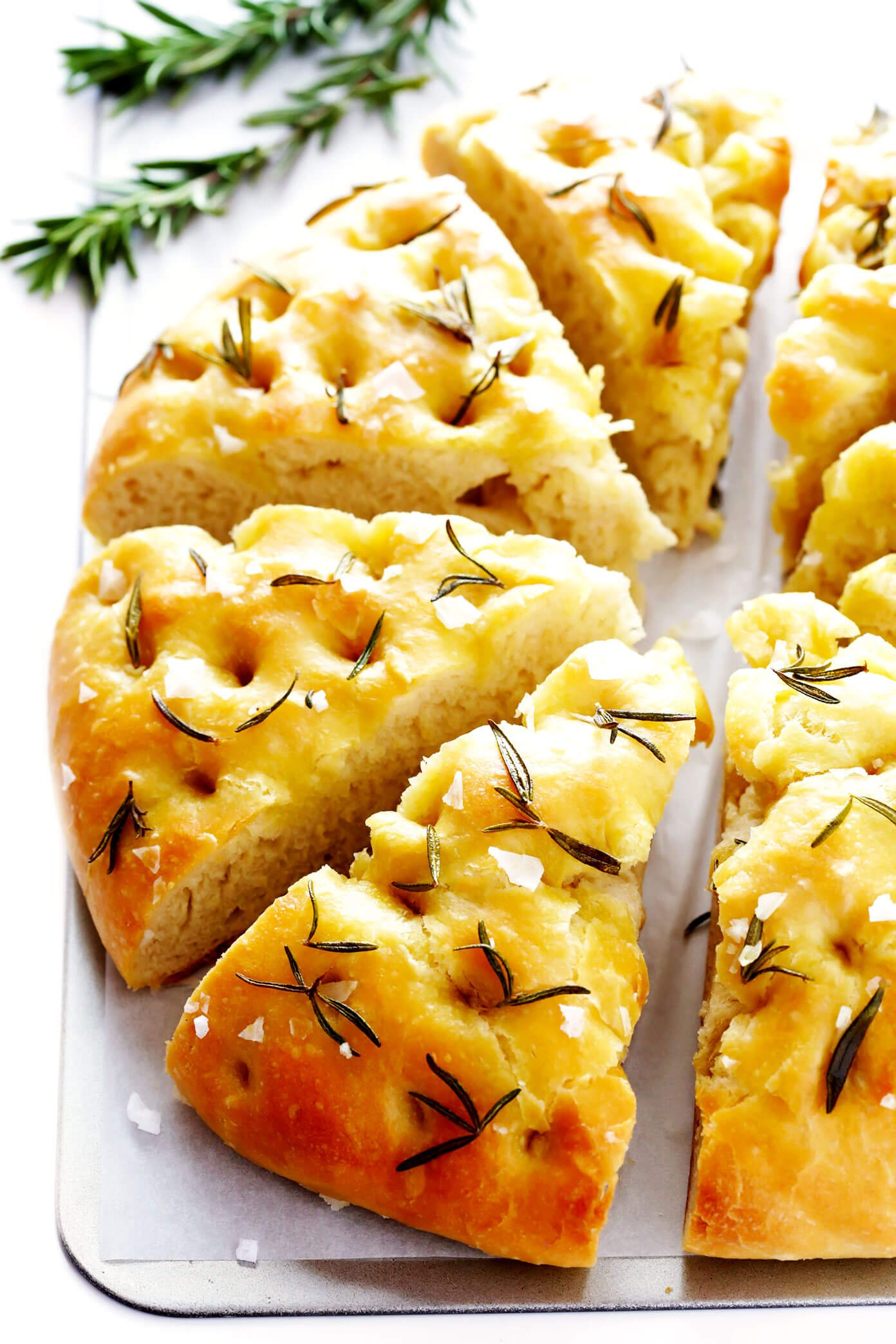 Rosemary Focaccia Bread Recipe Gimme Some Oven