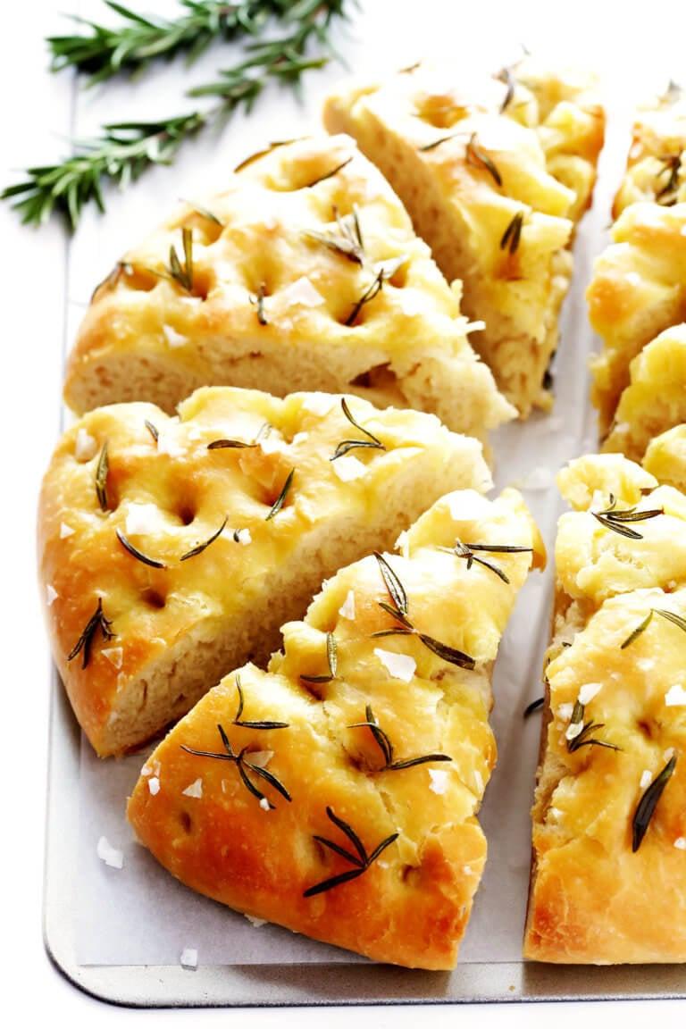 Rosemary Focaccia Bread Recipe Gimme Some Oven