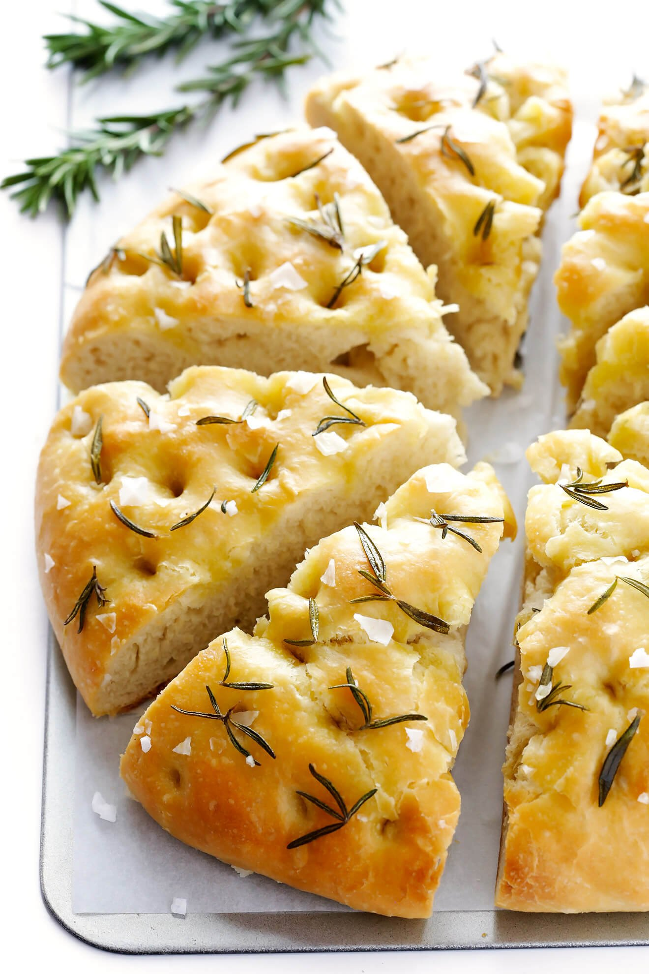 My All Time Favorite Recipe For Homemade Focaccia Bread Its Easy To Make