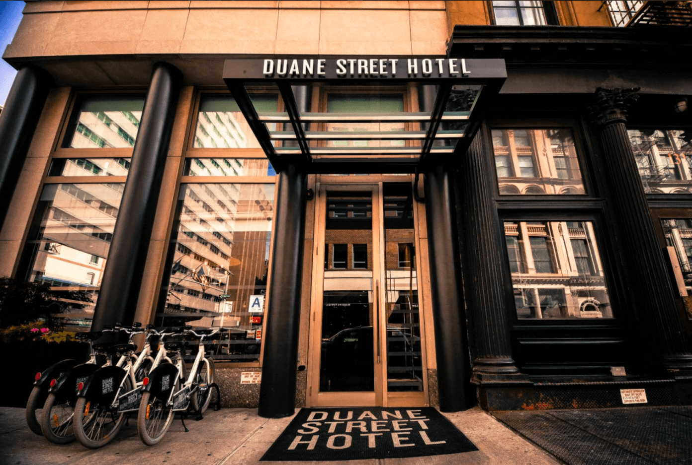 Duane Street Hotel | Weekend In New York City | gimmesomeoven.com/life