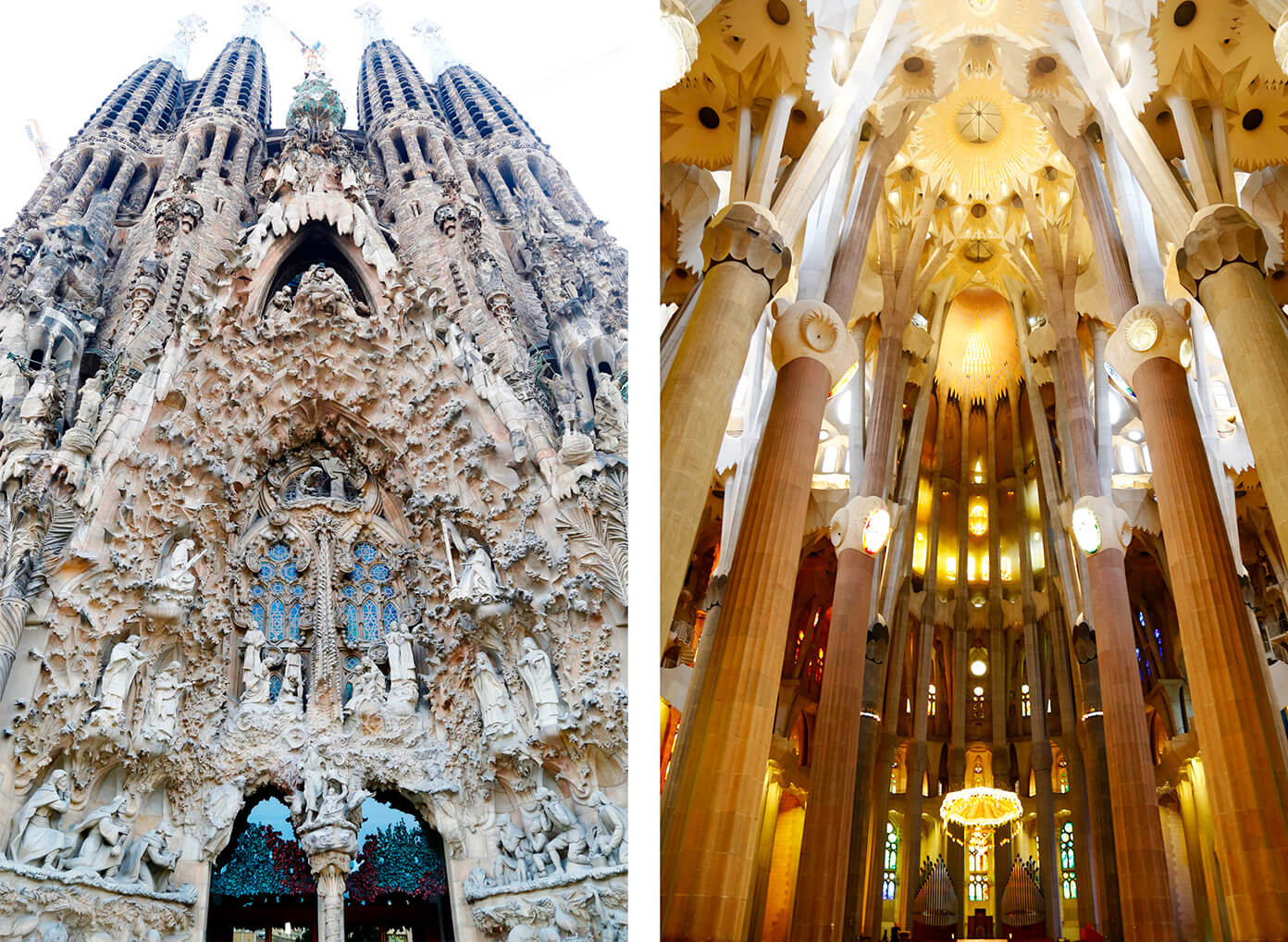 La Sagrada Familia - Gaudi's masterpiece is a must-see | Gimme Some Barcelona Travel Guide