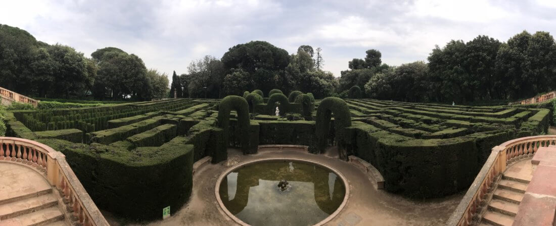 Labyrinth Park - a hidden gem above the city | Gimme Some Barcelona Travel Guide