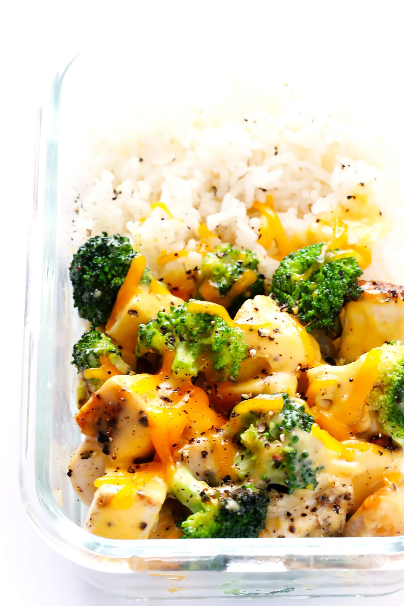 These Cheesy Broccoli Chicken And Rice Bowls Are Perfect For Easy Meal Prep Or Weeknight