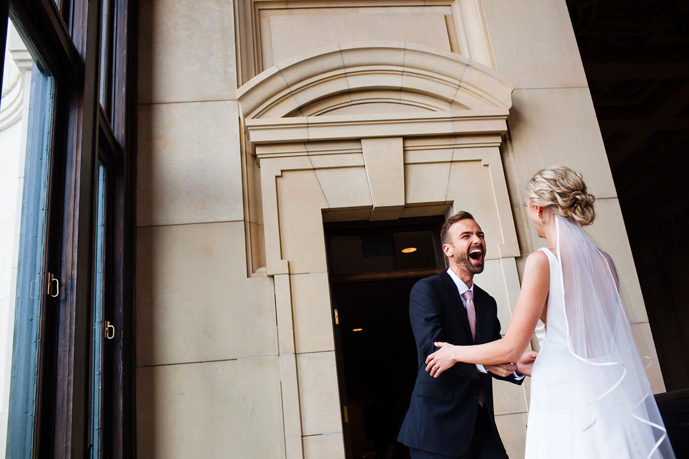 Barclay and Ali Martin Kansas City Wedding