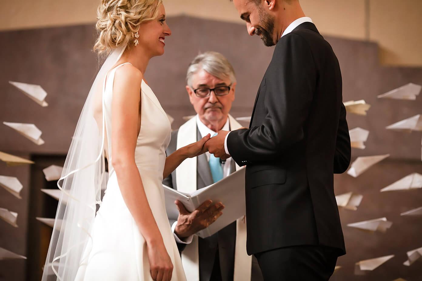 Ti Wedding Ring 77 Great Then exchanged rings u