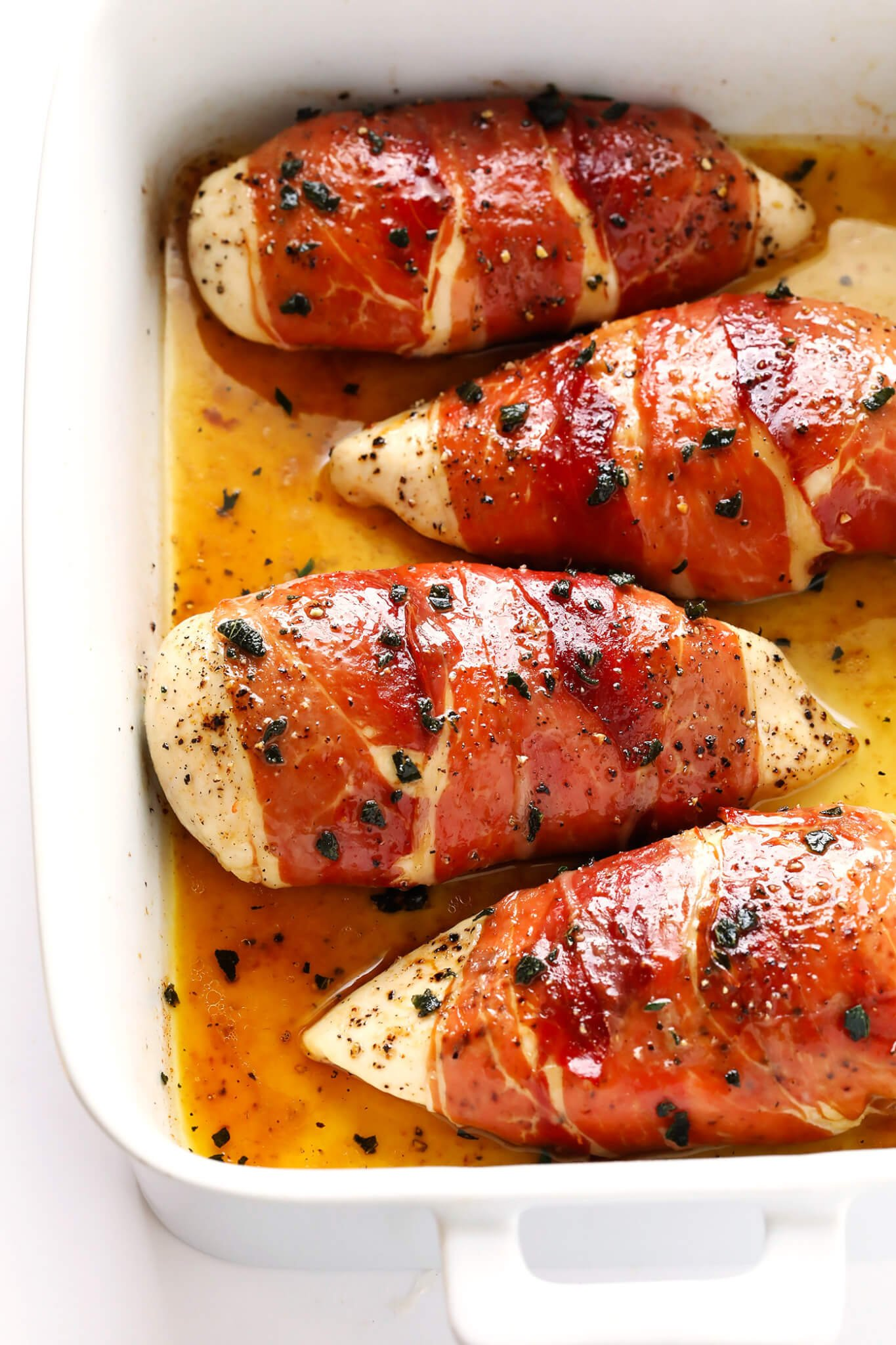 Prosciutto-Wrapped Baked Chicken Recipe