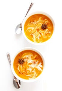 Chai Butternut Squash Soup Recipe
