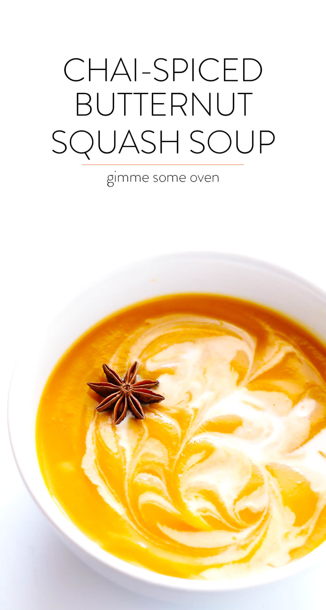 Chai-Spiced Butternut Squash Soup Recipe