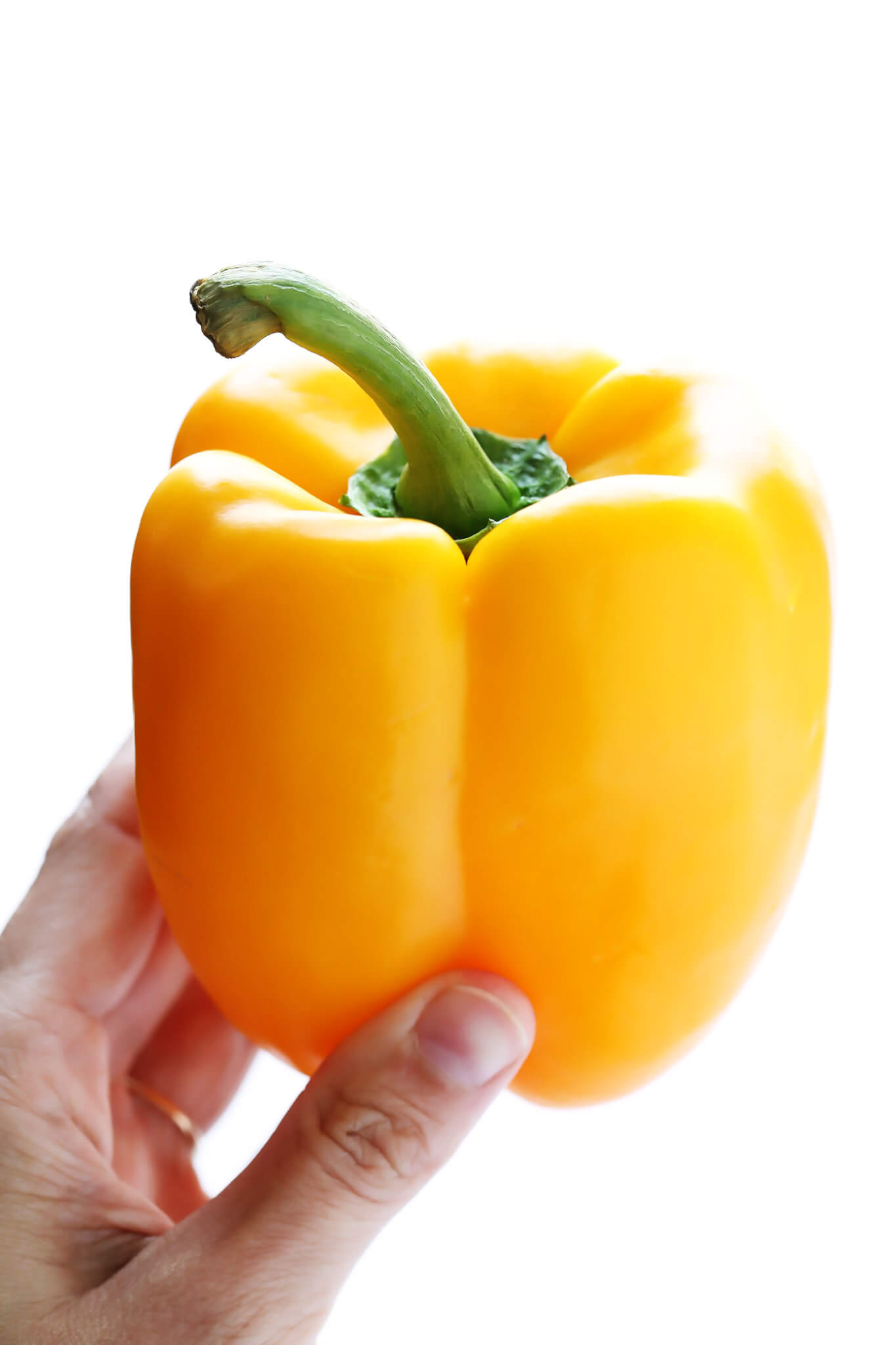 How To Cut A Bell Pepper -- 4 Ways!
