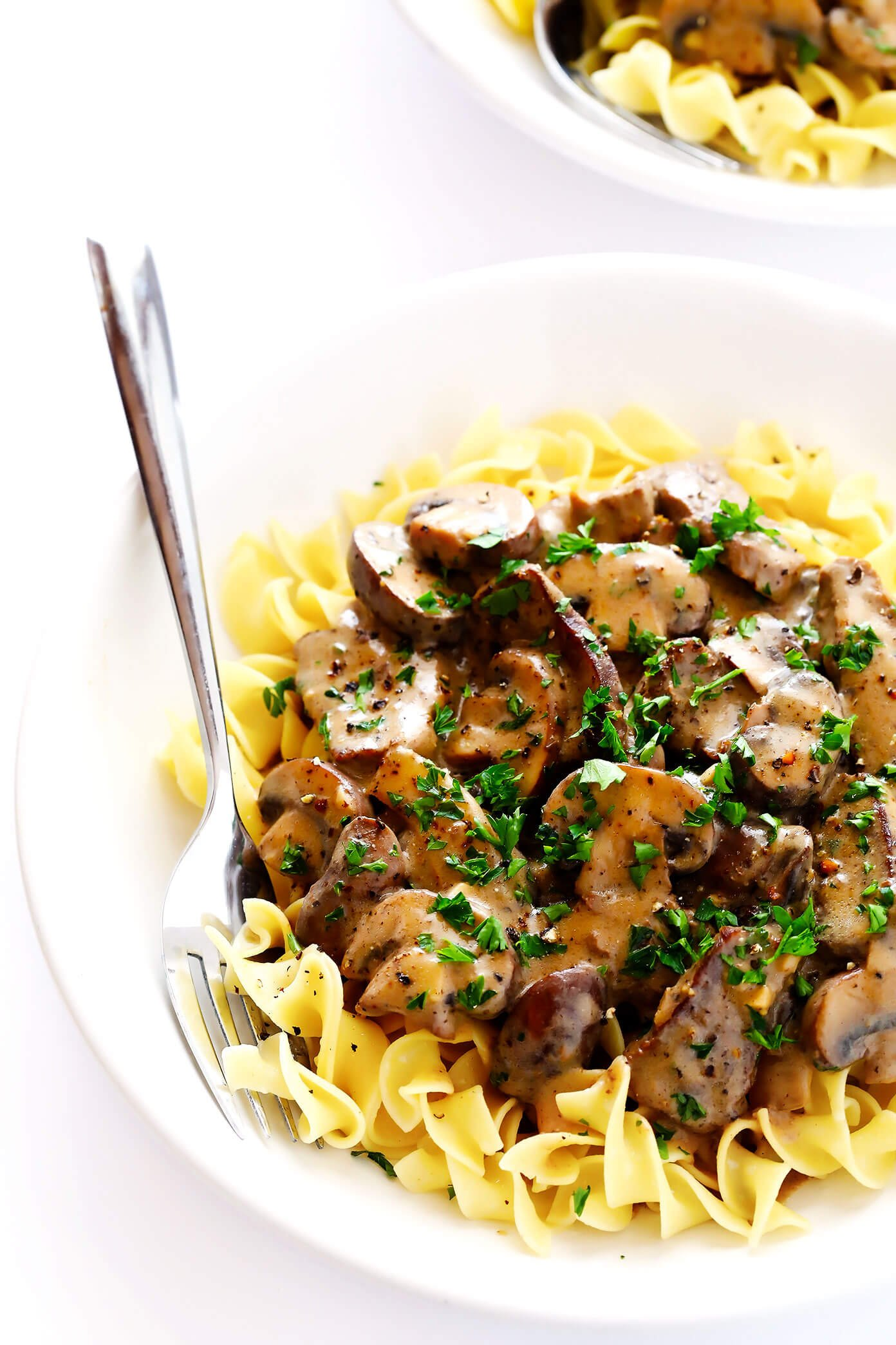 Easy Beef Stroganoff with Noodles