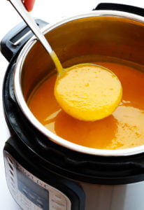 Pressure Cooker Butternut Squash Soup Recipe