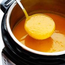 Pressure Cooker Butternut Squash Soup Recipe