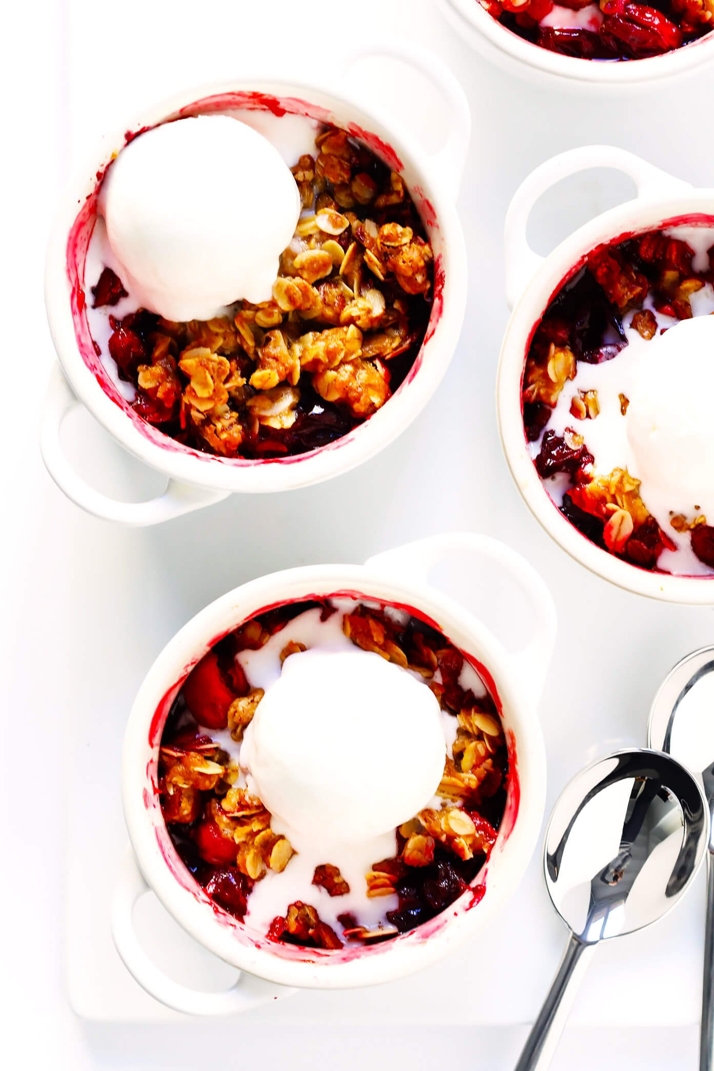 Easy Cranberry Crisp Recipe