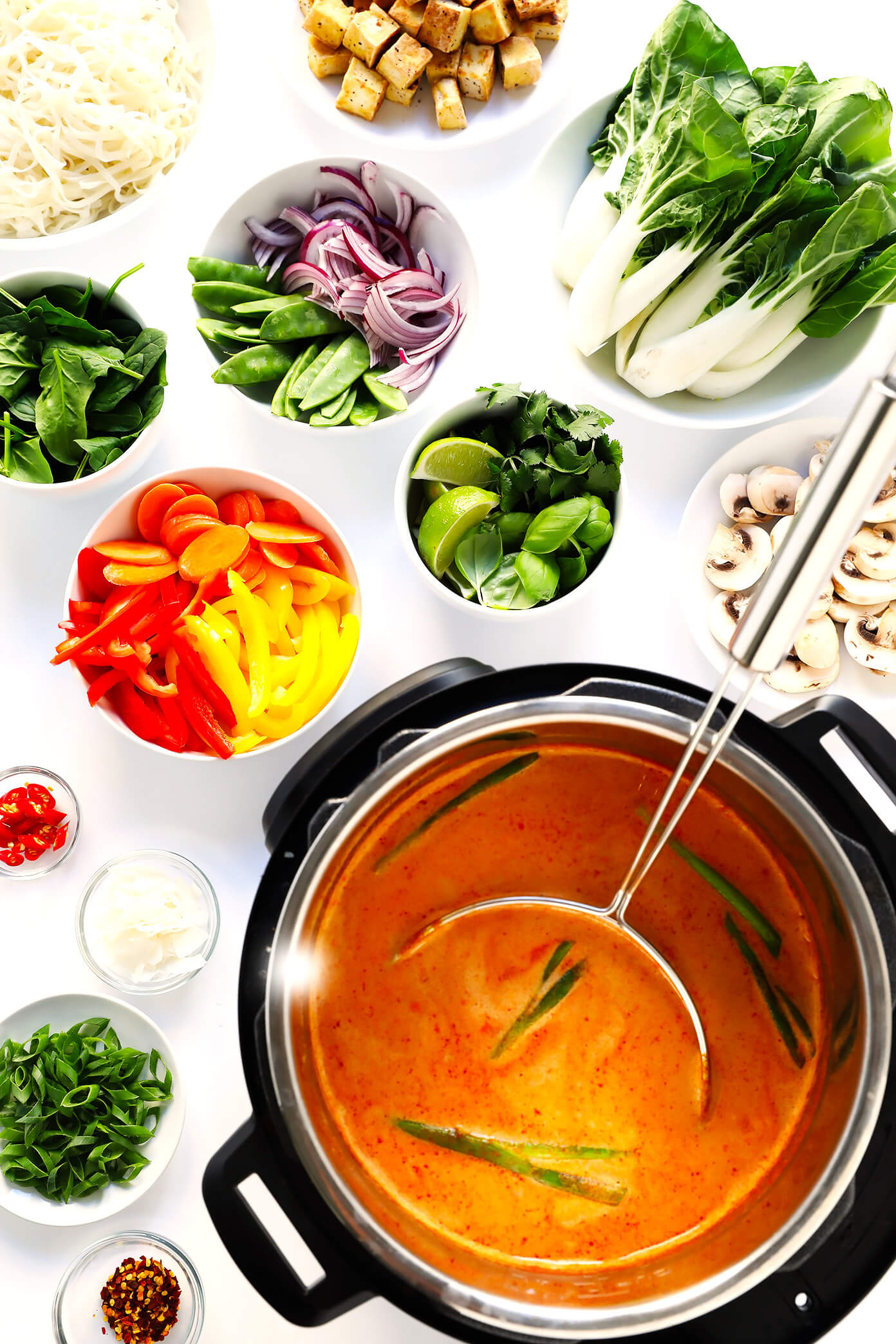 Thai Curry Hot Pot in Instant Pot