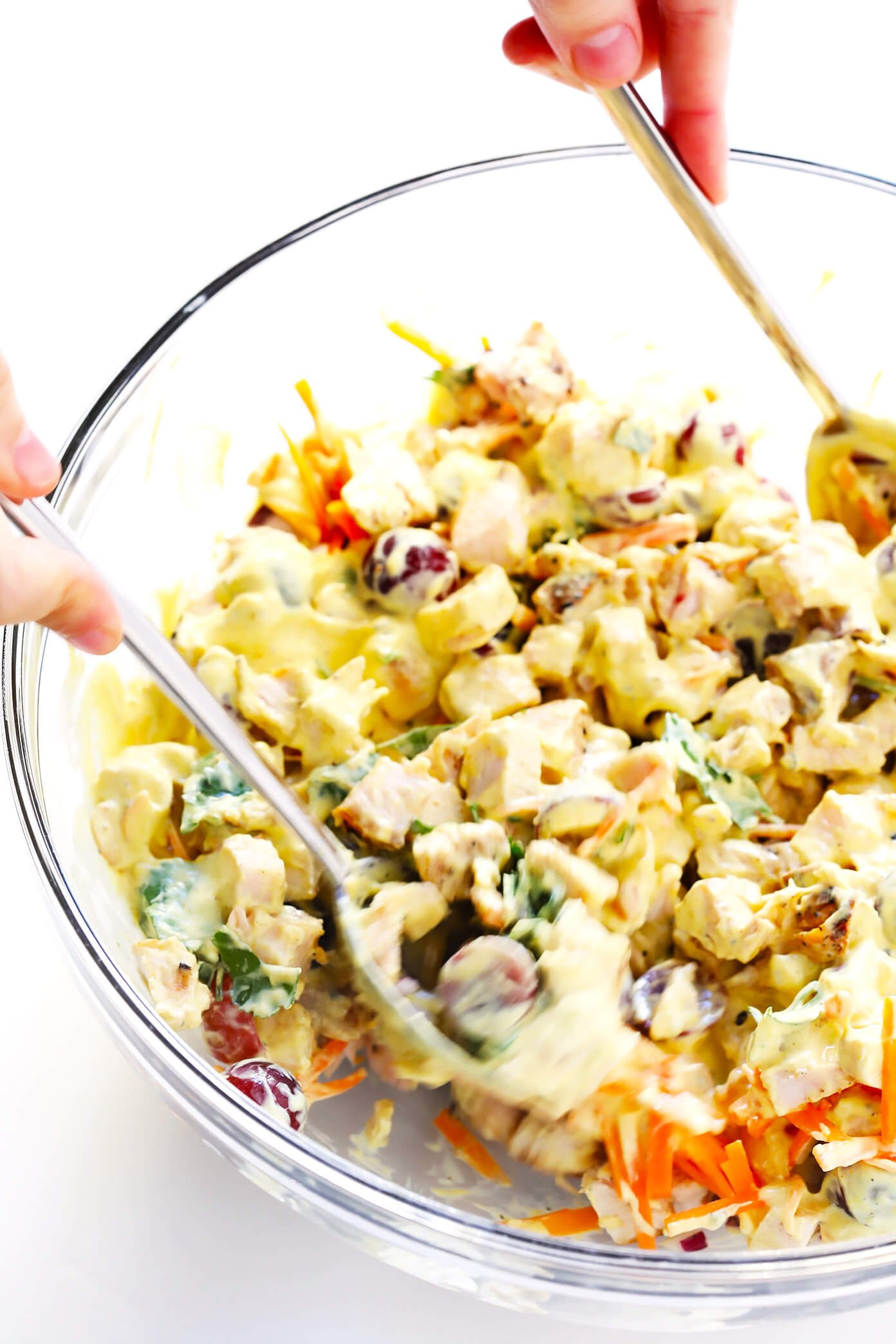 Healthy Curry Chicken Salad Recipe