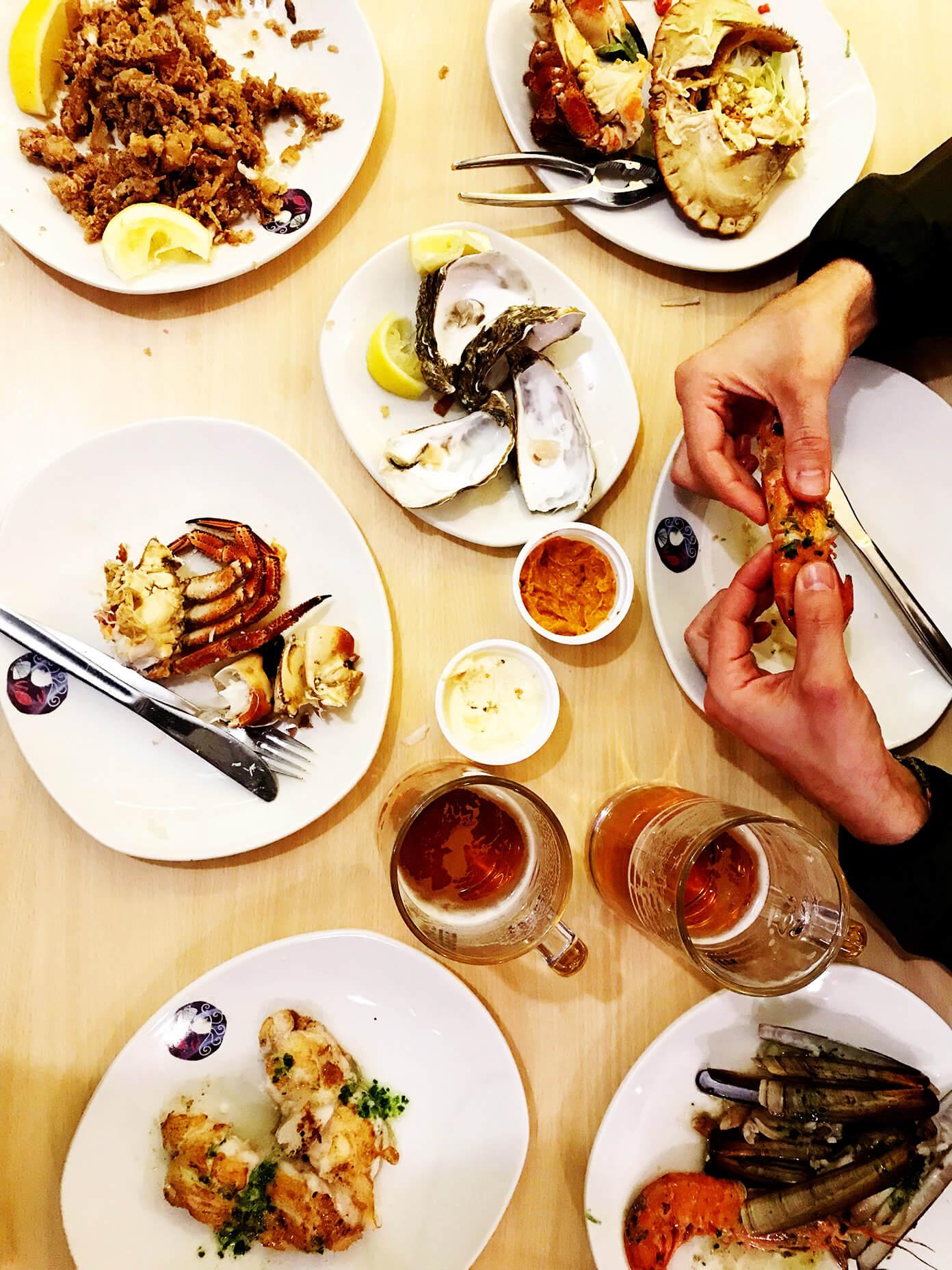 La Paradeta seafood restaurant   Gimme Some Barcelona Travel Guide