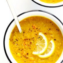 The BEST Lemony Lentil Soup Recipe