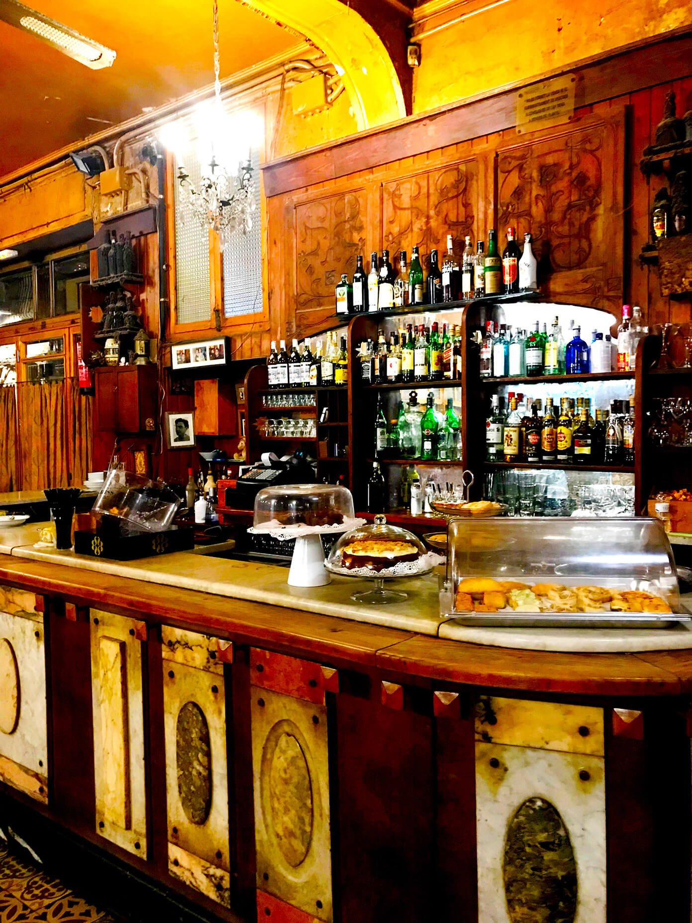 Bar Marsella - Hemingway bar famous for absinthe | Gimme Some Barcelona Travel Guide