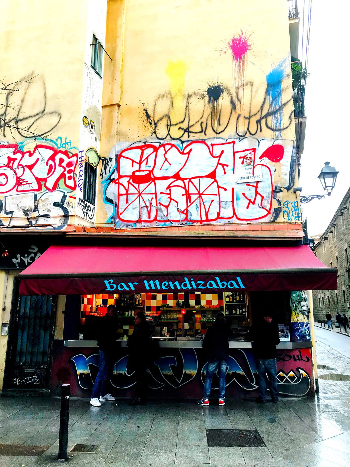 Bar Mendizábal Bravas   Gimme Some Barcelona Travel Guide
