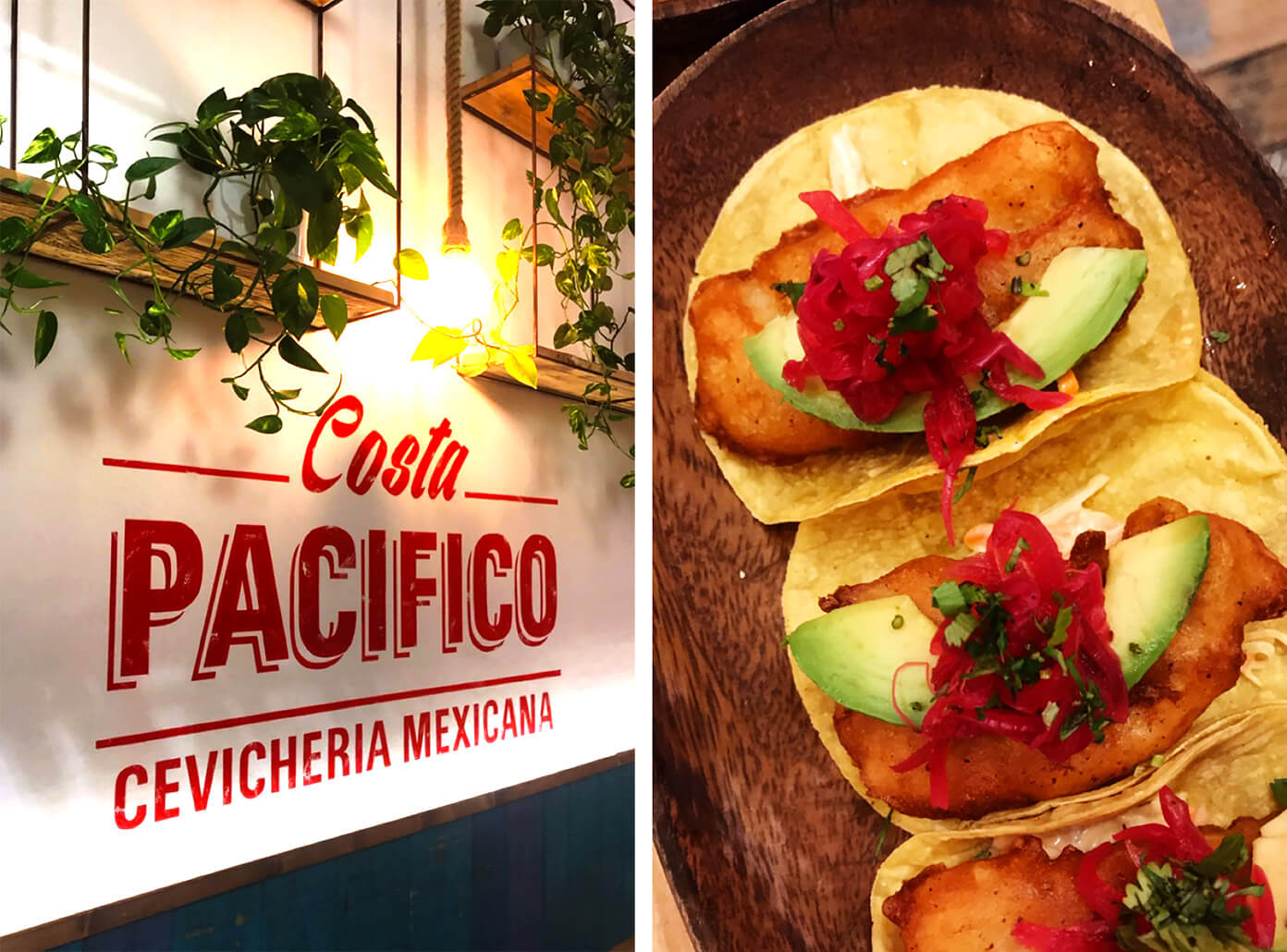 Costa Pacifico Mexican seafood | Gimme Some Barcelona Travel Guide