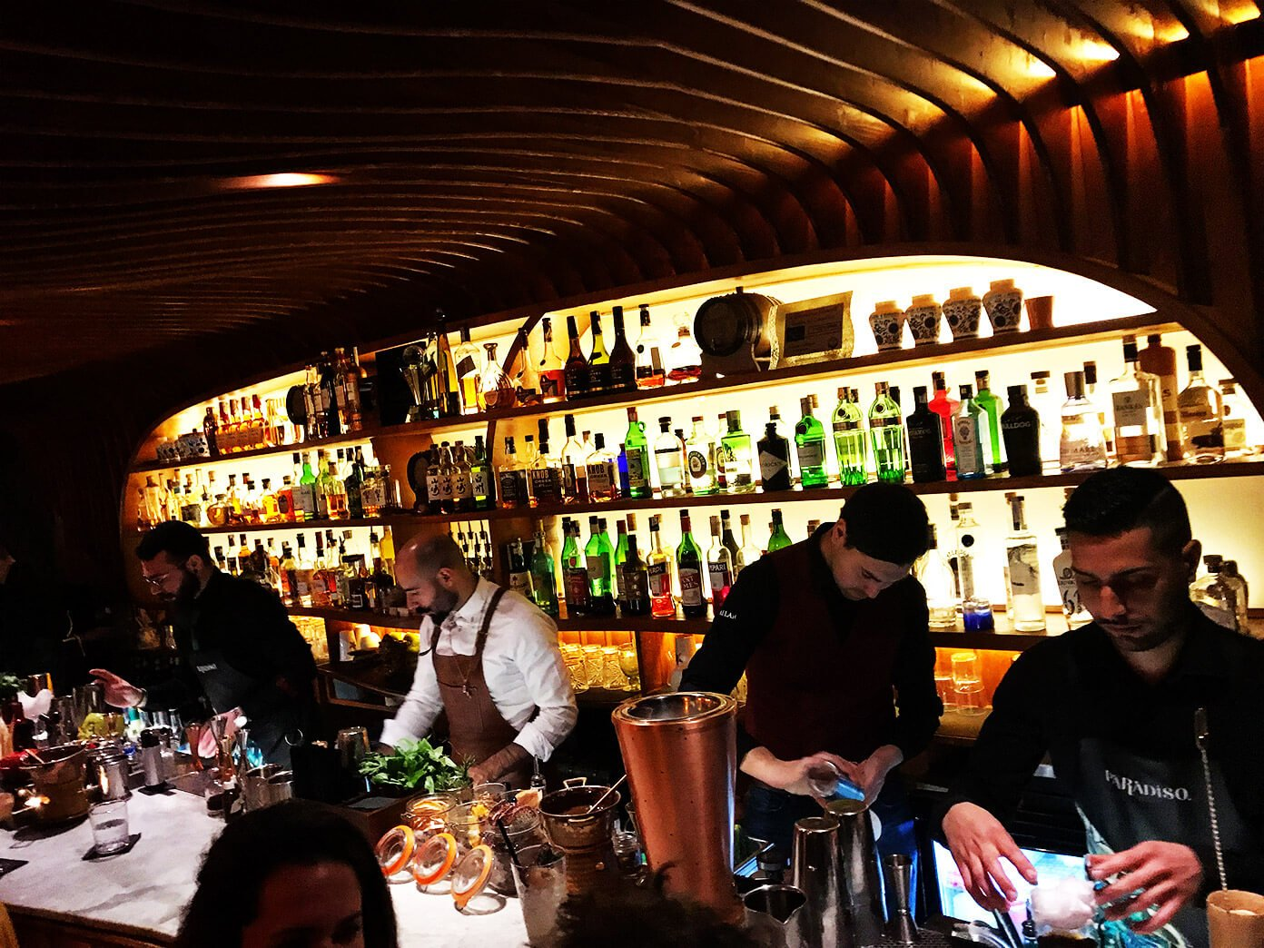 Paradiso - speakeasy-style bar with serious presentation | Gimme Some Barcelona Travel Guide