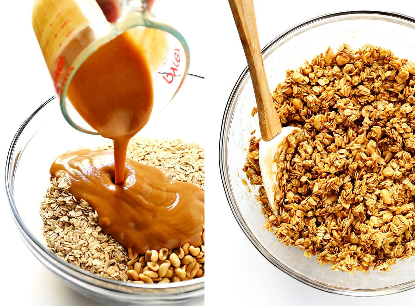 Peanut Butter Granola Prep