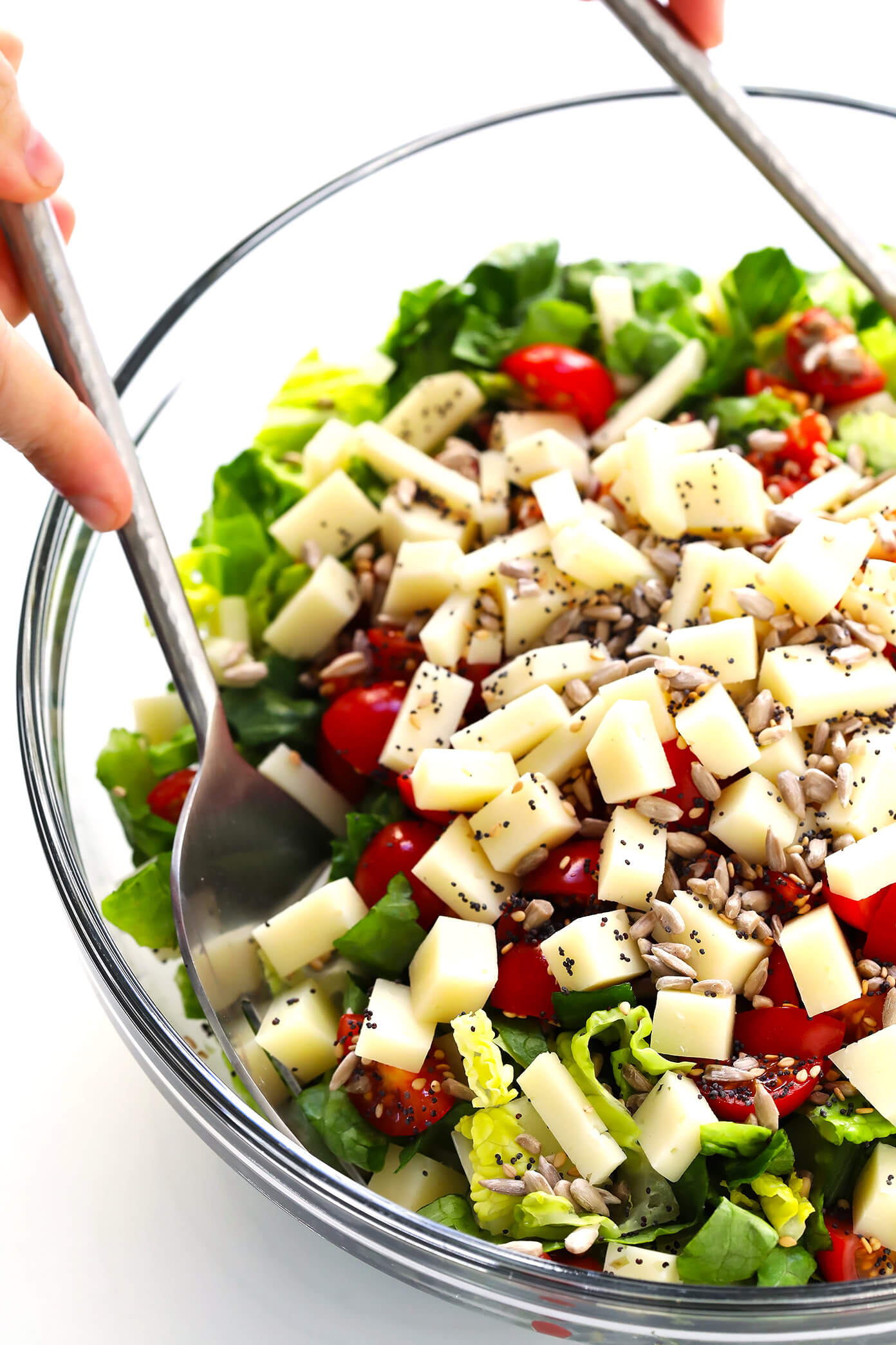 Unforgettable Italian Chopped Salad Prep