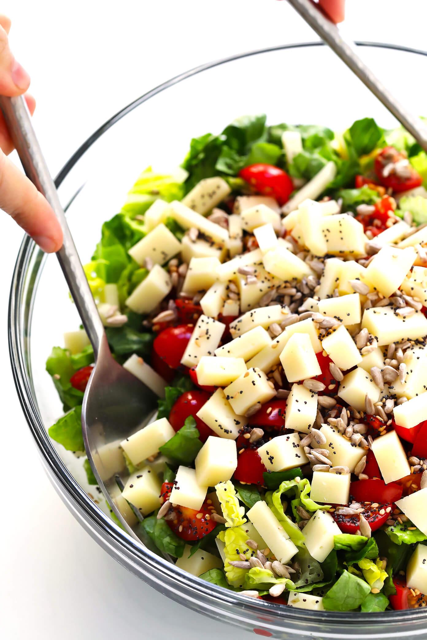 Unforgettable Italian Chopped Salad Prep
