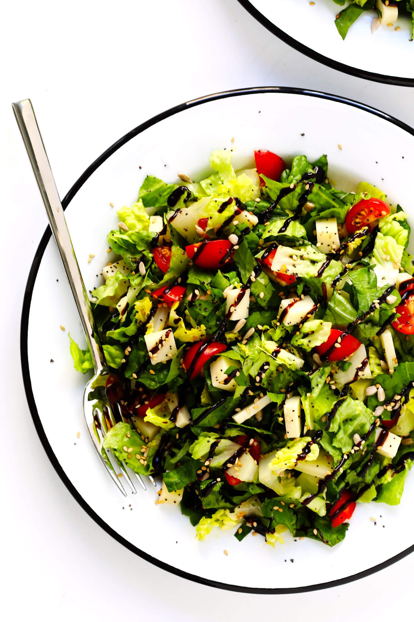 Unforgettable Italian Chopped Salad with Balsamic Glaze