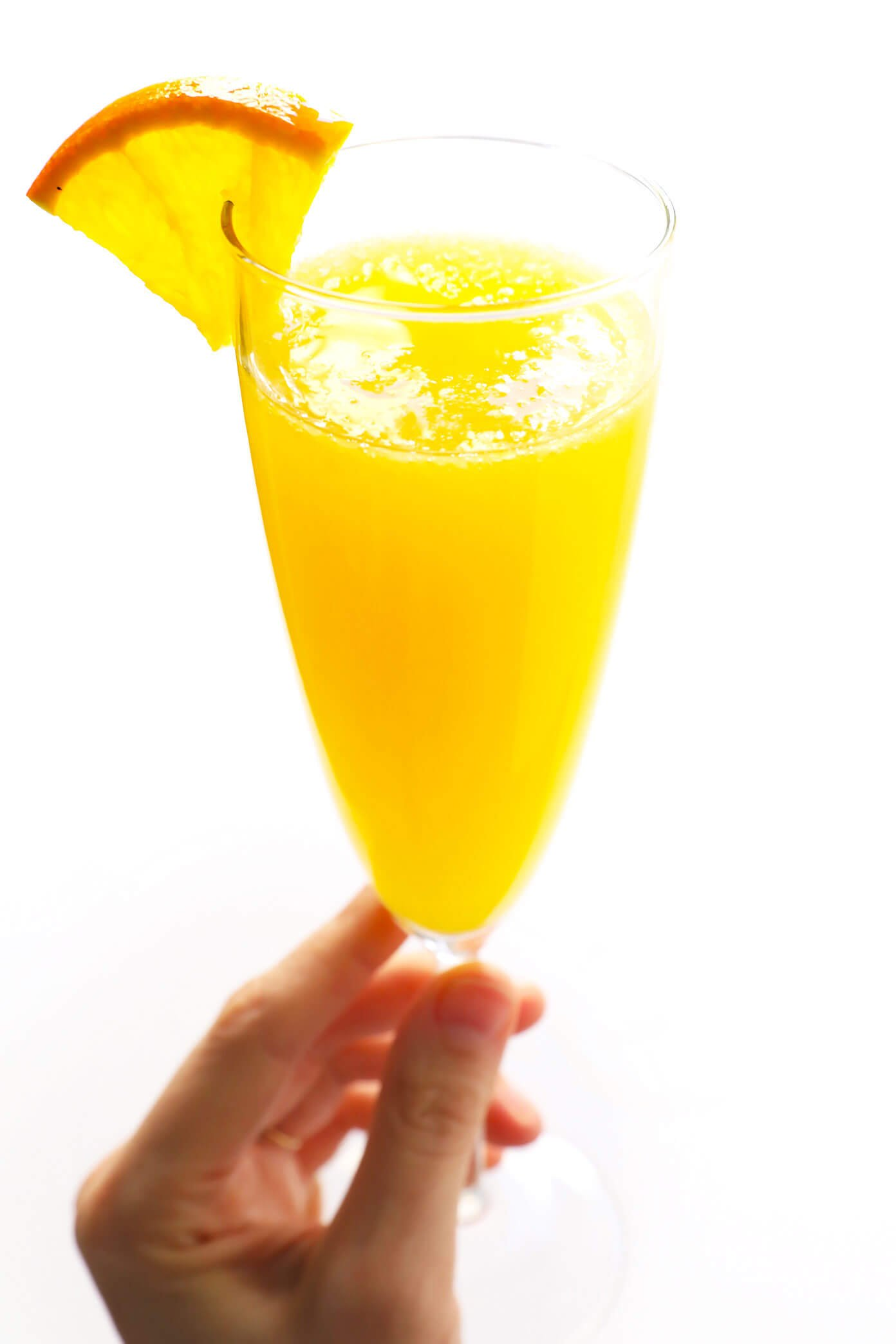 The recipe for classic mimosa