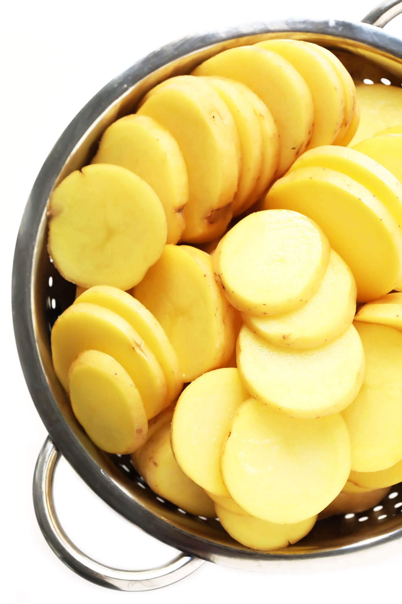 Yukon Gold Potatoes for Scalloped Potatoes