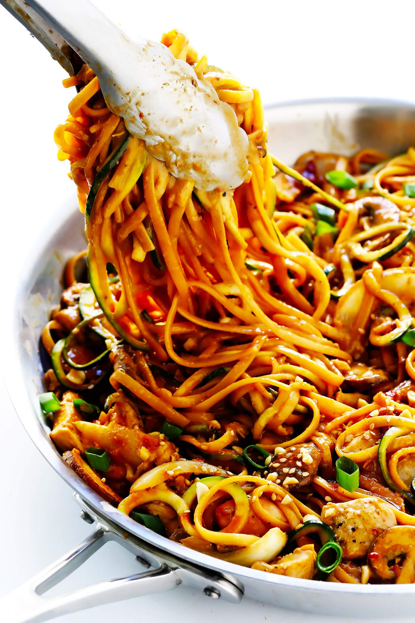 asian noodles chicken recipe