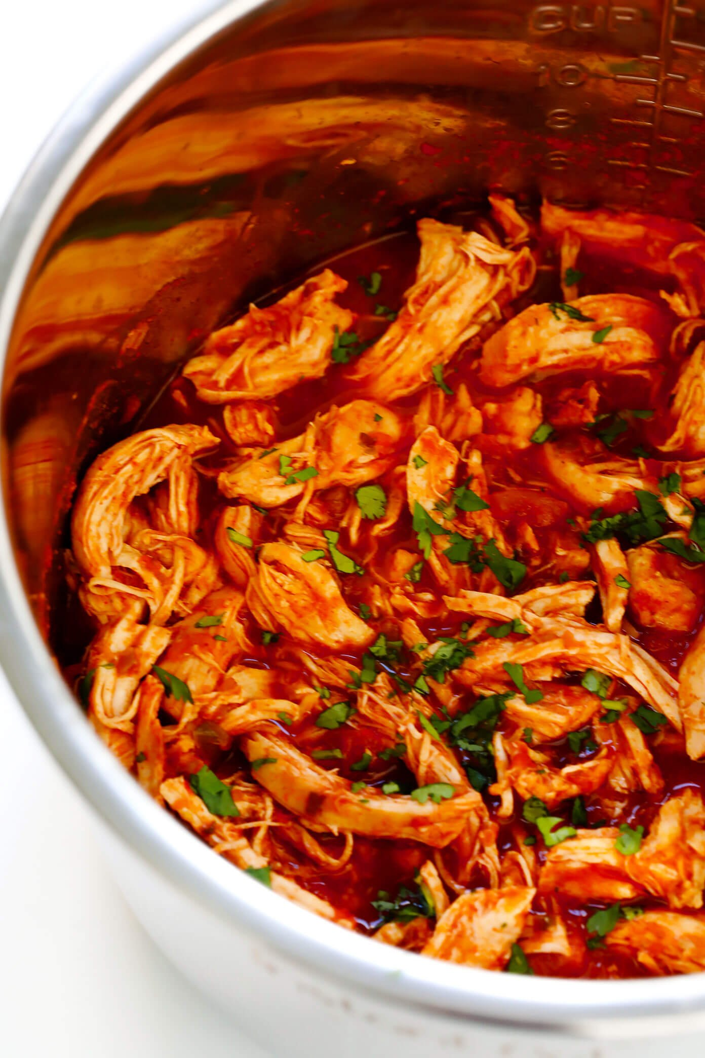 How do i make shredded chicken in a slow cooker