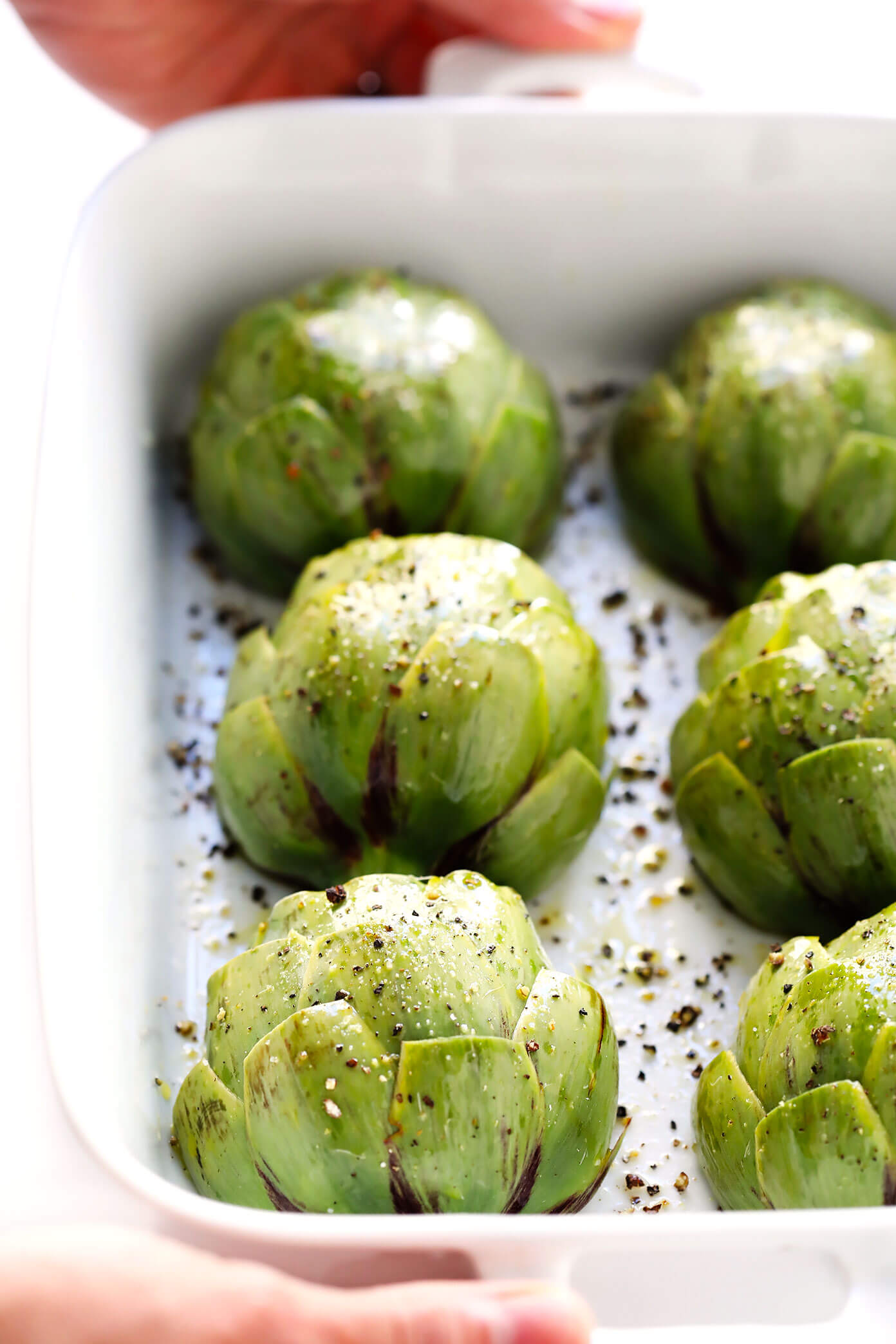 How To Make Roasted Artichokes