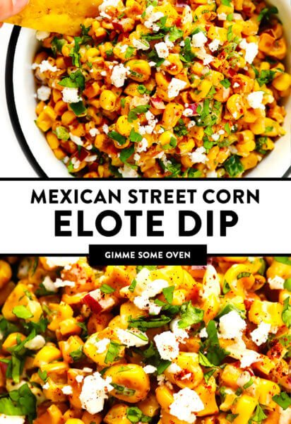 Mexican Street Corn Elote Dip Recipe